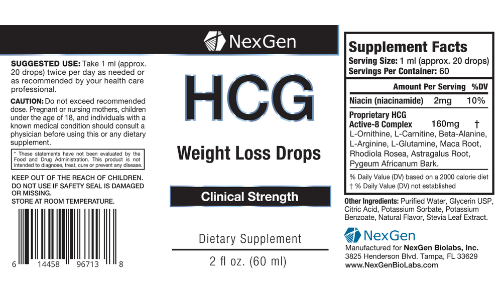 Up To 78% Off on HCG Weight Loss Drops (2-Pk ...
